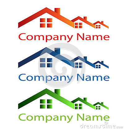 House roof logo