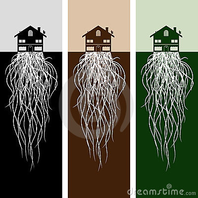 House With Roots