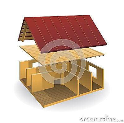 House schematically parsed