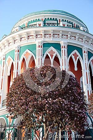 Free House Sevastyanov, Ykaterinburg, Russia. Royalty Free Stock Photo - 18438445