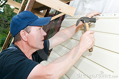House siding works