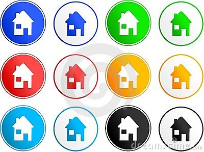 House sign icons