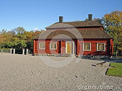House skansen park Stockholm
