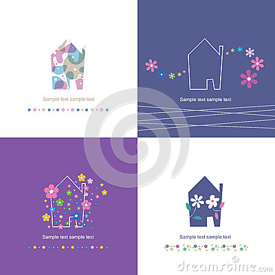 House symbol collection - housewarming