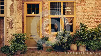 House Terrace With Green Leaf Plants During Daytime Free Public Domain Cc0 Image