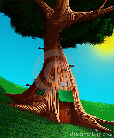 The house in a tree
