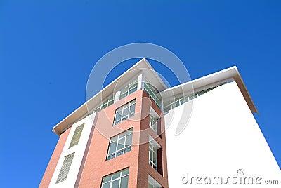 House under blue sky