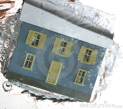 House under water 2