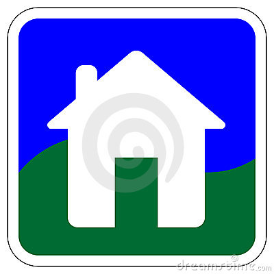 House Vector icon / Button