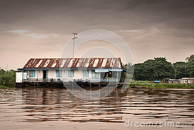 House in the water