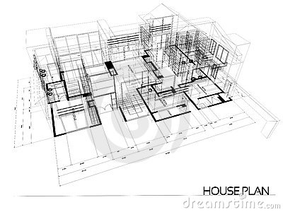 House wire blueprint