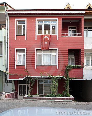 House Wooden Ottoman Style