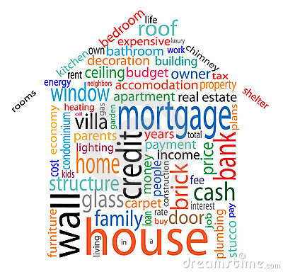 Free House Word Cloud Royalty Free Stock Images - 16140069