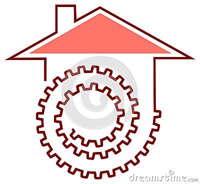 House work logo