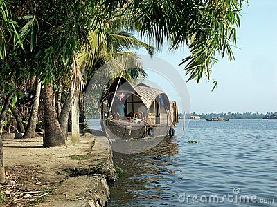 Houseboat Editorial Stock Image