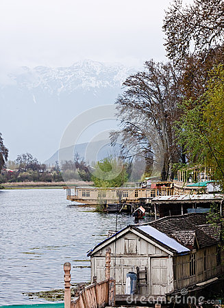 Houseboats, Dal Lake, Srinagar,