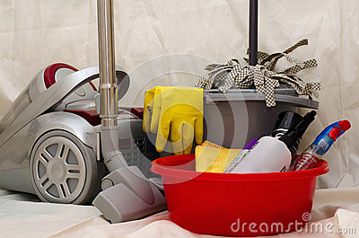 Household cleaning tools