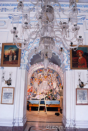 Household Durga Festival of Kolkata Editorial Image