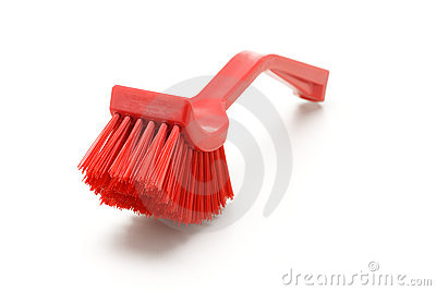 Household plastic brush