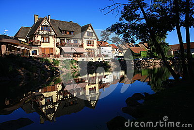 Houses in Alsace