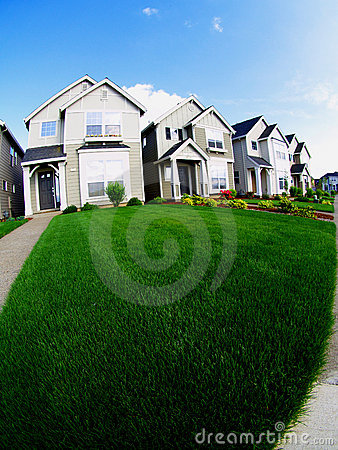 Free Houses And Lawn Stock Images - 942094