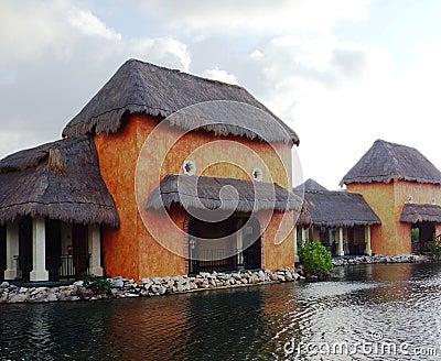 Houses ashore