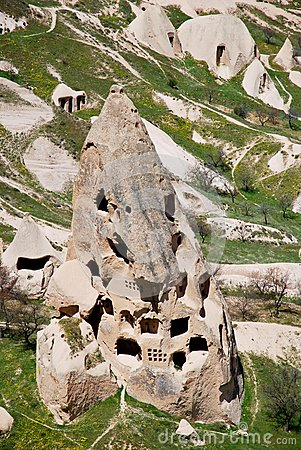 The houses of Cappadocia