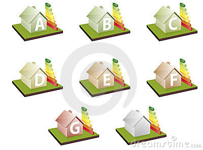 Houses energy efficiency