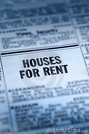 Free Houses For Rent Classifieds Stock Photos - 16156993