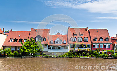 Houses at Little Venice, Bamberg