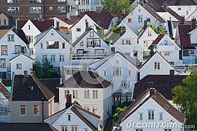 Houses. Norway, Stavanger