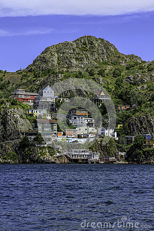 Free Houses Of St. John S, Newfoundland Stock Images - 69302684