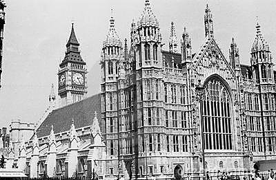 Houses of Parliament Editorial Stock Image
