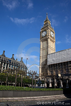 Houses of Parliament Editorial Image