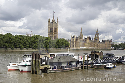 Houses of Parliament Editorial Photography
