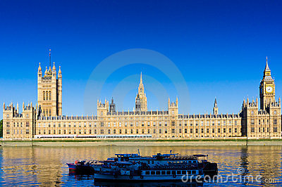 Houses of parliament Editorial Stock Photo