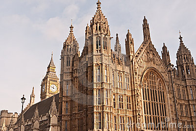 Houses of Parliament and Big Ben.