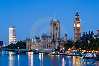 Houses of Parliament at dawn