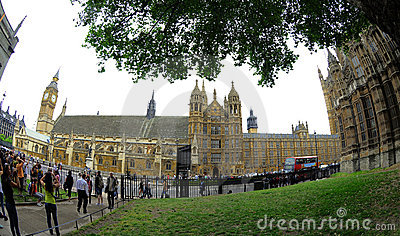 Houses of Parliament - London Editorial Photo