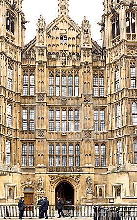 Houses of Parliament, London Editorial Image