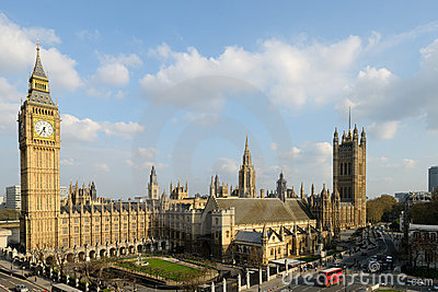 Houses of Parliament Palace of Westminster London