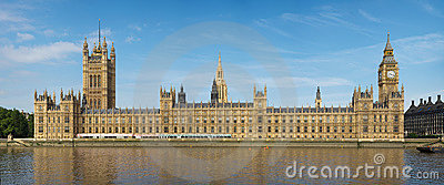 Houses of Parliament on a sunny day