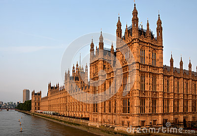 Houses of Parliament from Westminster Bridge Early Morning Lands