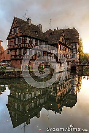 Houses in Petite-France, Strasbourg, France