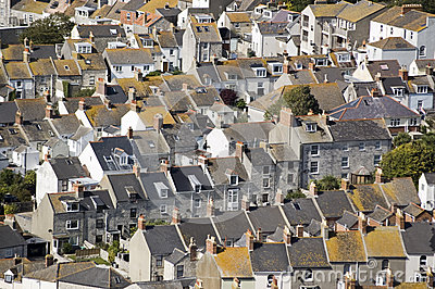 Houses on Portland, Dorset