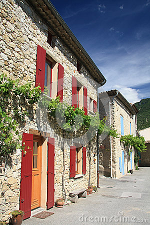 Houses In Provence, France Stock Photo - Image: 24829920