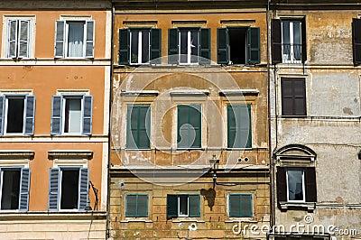 Houses, Rome