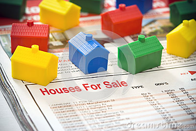 Houses House Home For Sale Editorial Stock Photo