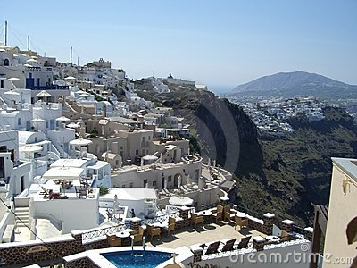 Houses in Santorini