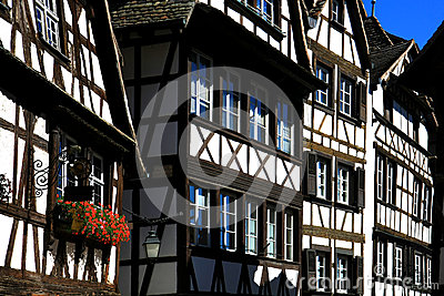 Houses in Strasbourg Petite France